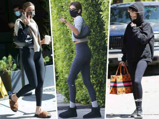 Celebs Accessorize Athleisure With Picks from Dior, Bottega Veneta and More