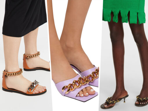 Tuesday Shoesday: The Chunky Chain Trend Now Applies to Your Footwear Too