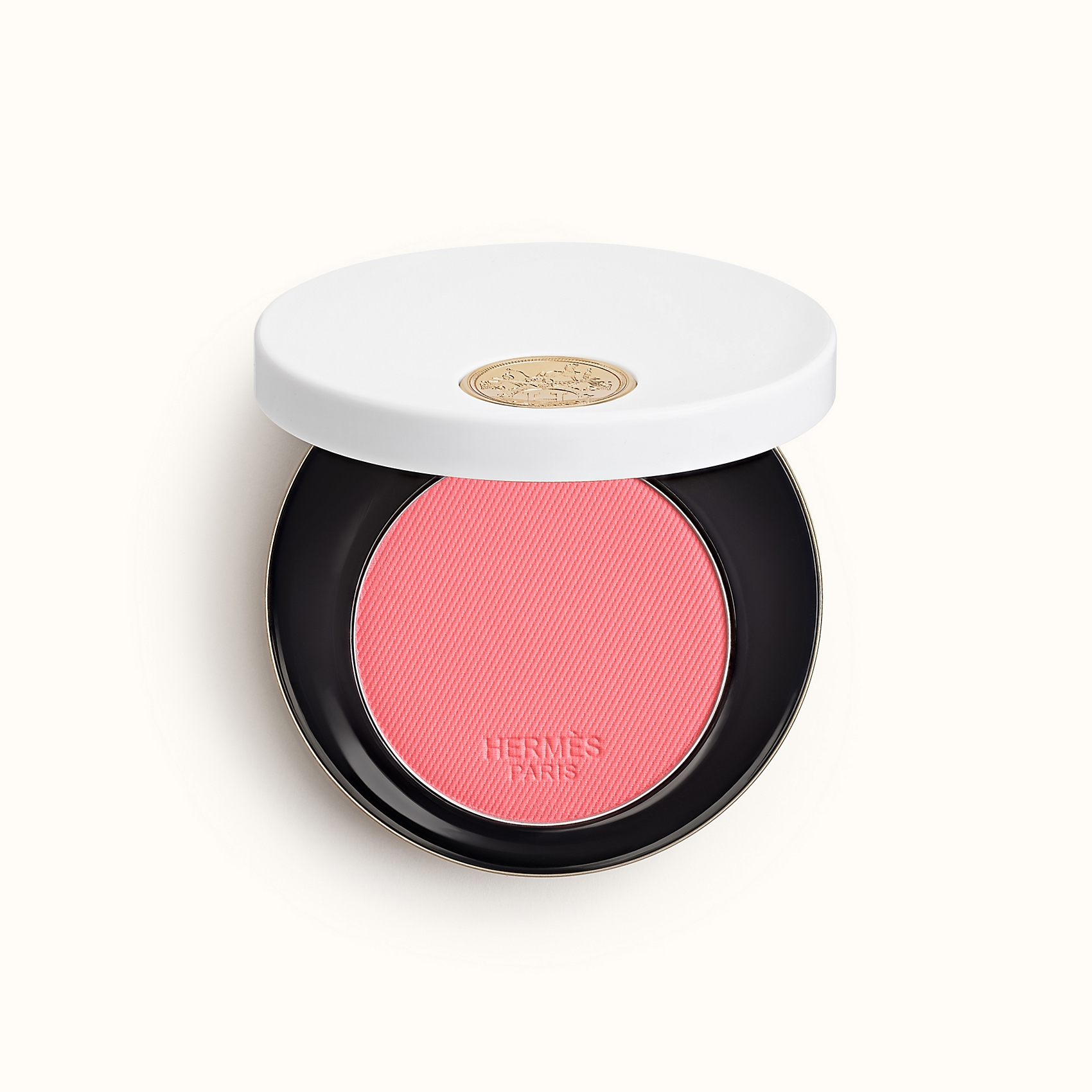 Rose Hermes, Silky blush powder, Rose Pommette. Photo via Hermes.com