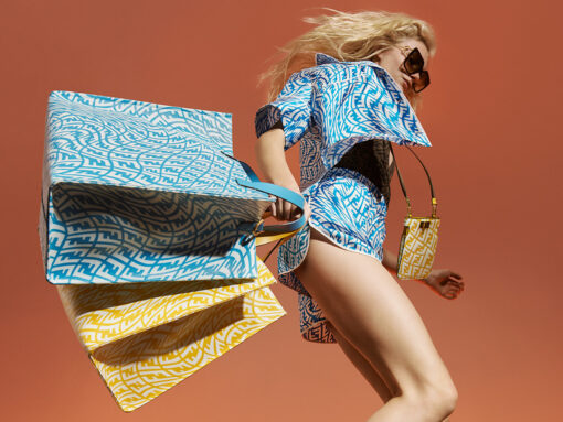 Head to the Beach in Style This Summer With Fendi