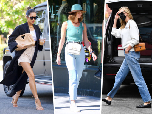 Celebs Come and Go With Gucci Horsebit Bags, Bottega's The Point and More