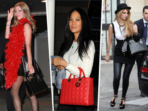 Throwback Thursday: Celebs and Their Lady Dior Bags
