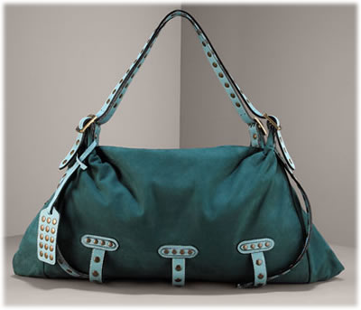 BeD Large Ava Nubuck Satchel
