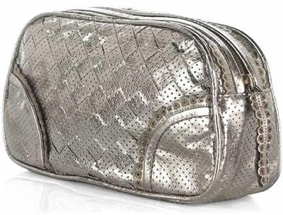 Bottega Veneta Perforated Leather Cosmetic Case