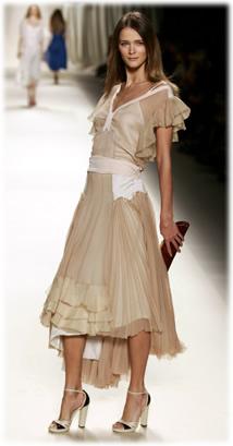 Chloé Winter Runway Dress