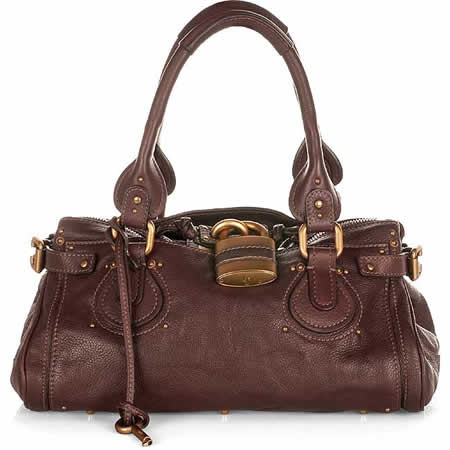Chloe Paddington Handbag in Chocolate