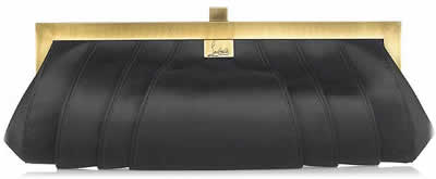 Christian Louboutin Venus Satin Clutch