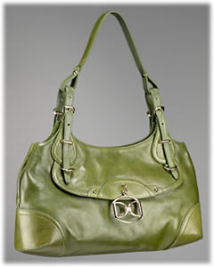 DKNY Soft Nappa East/West Shoulder Bag