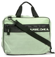 Diesel Unisex Nylon Messenger Bag