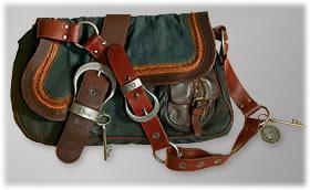 94545a9d48ad Dior Gaucho Denim Leather Medium Saddle Bag - PurseBlog