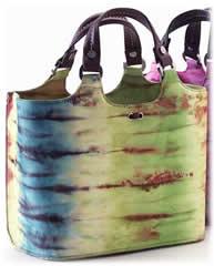 Donald J Pliner Tie-Dye Tote