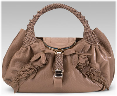 Fendi Wisteria Leather Spy Bag