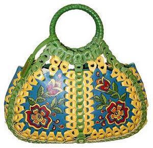 Isabella Fiore Flower Child April Handheld Bag