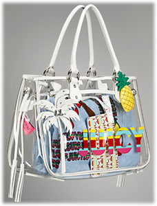 Juicy Couture ESG Beach Colony Tote