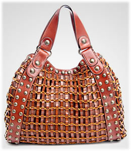 Kooba Ada Woven Leather Tote
