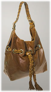 Kooba Large Carla Bag with Braid