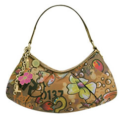 LeSportsac 9221 Skratch in Graffiti Sable