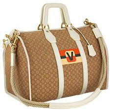 Louis Vuitton Monogram Mini Initials Keepall
