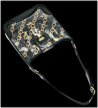 Louis Vuitton Scarf bag in vinyl-coated silk