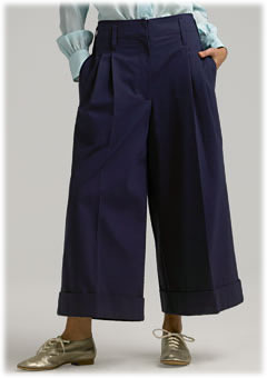 Marc Jacobs Collection Cropped Flare Pant