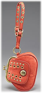 Marc by Marc Jacobs Eyelet Leather Wristlet
