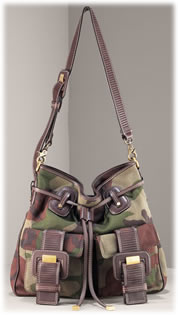 Michael Kors Camo Desert Shoulder Bag