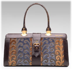Miu Miu Velvet Twiggy Bag