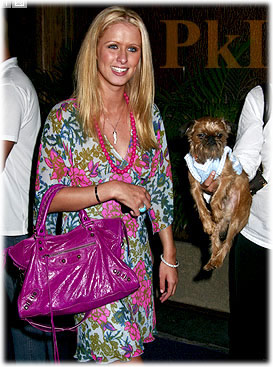 Nicky Hilton Balenciaga Bag2
