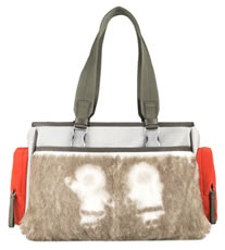 Prada Sport Fur Pocket Bag