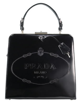 Prada Leather Frame Bag