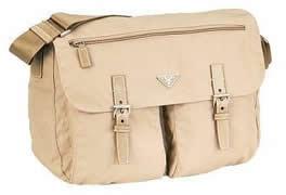 Prada Messenger Bag Beige