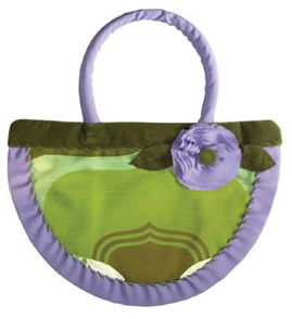 Shapely Shopper Purple Blossom