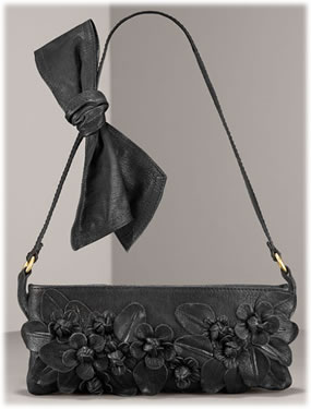 Valentino Floral Applique Clutch