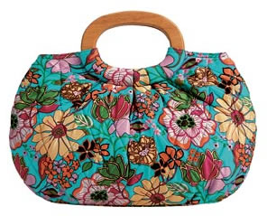 Vera Bradley Tropical Silk Limited Edition Kelly