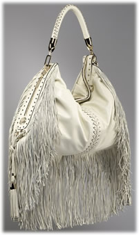 Versace Couture Fringes Extra Large Hobo
