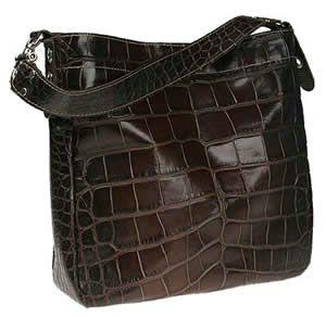 Vin Baker Shannon Croco Handbag