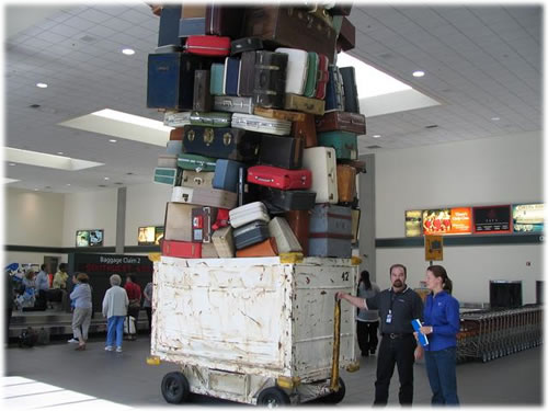 airport luggage