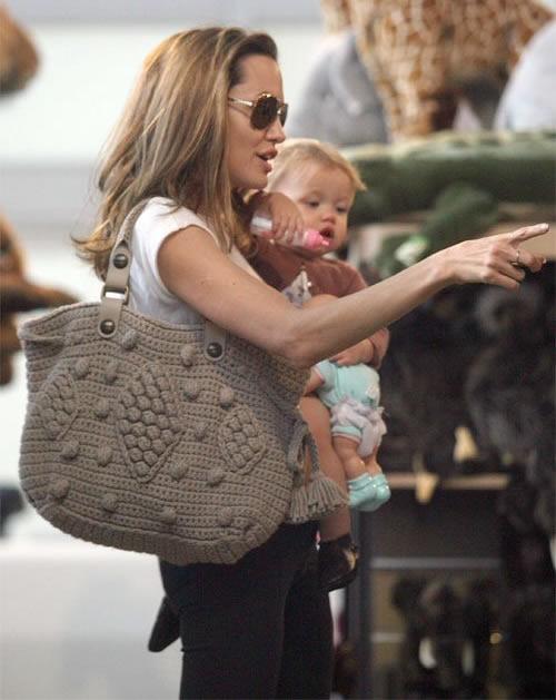 Angelina Jolie Gerard Darel Bag