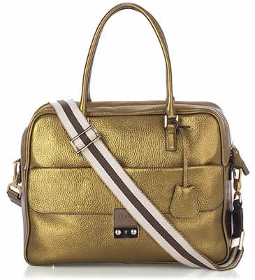 Anya Hindmarch Metallic Bowling Bag