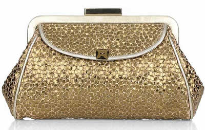 Anya Hindmarch Libertine Woven Leather Clutch