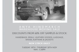 Anya Hindmarch Warehouse Sale