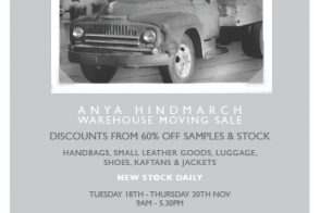 Anya Hindmarch Warehouse Sale
