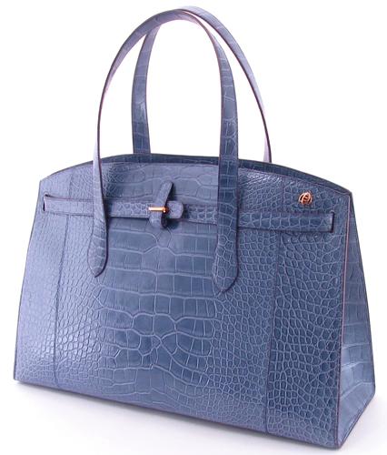 april in paris boston alligator tote