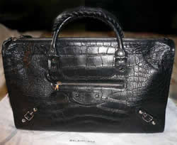 Balenciaga Crocodile Work Bag1
