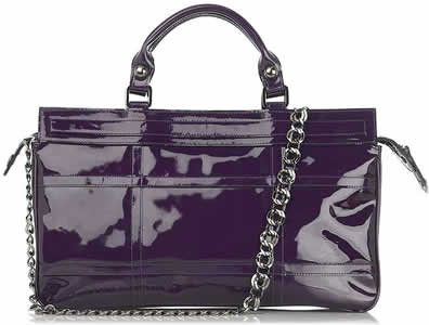 Be and D Small Twiggy Patent Tote
