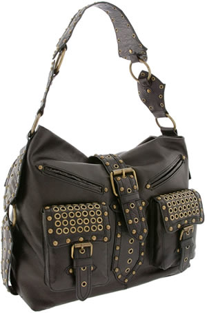 Betsey Johnson Heavy Metal Hobo