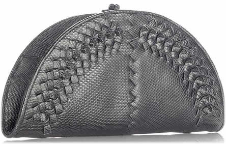 Bottega Veneta Karung Fan Clutch