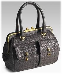 Bottega Veneta Struzzo Intrecciato Bag