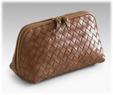 Bottega Veneta Woven Cosmetic Case