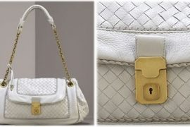 Bottega Veneta Woven Shoulder Bag & Ballet Flats